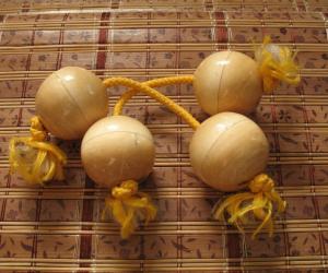 Деревянные асалато (патика, банакулас, кос-кос, телеви)